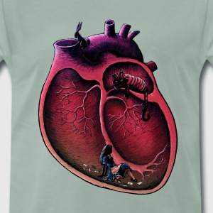Steel green Navy Alice in my heart T-Shirts T-Shirts - Men's Premium T-Shirt