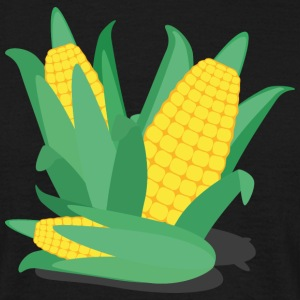 Corn on the cob, green and yellow T-Shirts - Men's T-Shirt