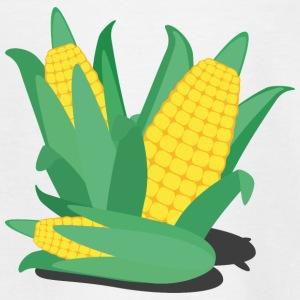 Corn on the cob, green and yellow Shirts - Teenage T-shirt