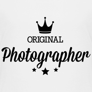 Original three star deluxe photographer Shirts - Kids' Premium T-Shirt