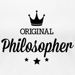 Original three star deluxe philosopher T-Shirts - Women's Premium T-Shirt