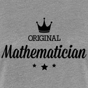 Original three star deluxe mathematician T-Shirts - Women's Premium T-Shirt