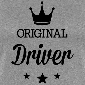 Original three star deluxe driver T-Shirts - Women's Premium T-Shirt