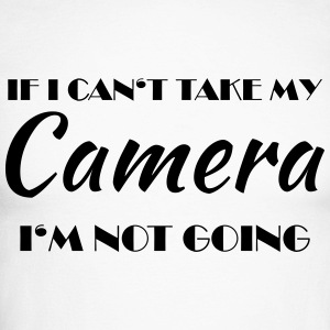If I can't take my camera... Langarmshirts - Männer Baseballshirt langarm