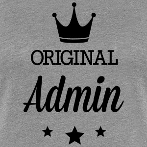 Original three star deluxe Admin T-Shirts - Women's Premium T-Shirt