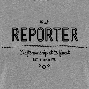 Best journalist - craftsmanship at its finest T-Shirts - Women's Premium T-Shirt