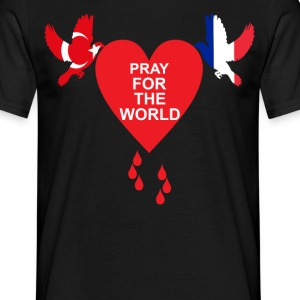 Pray For The World - Turkey - Nice T-Shirts - Men's T-Shirt