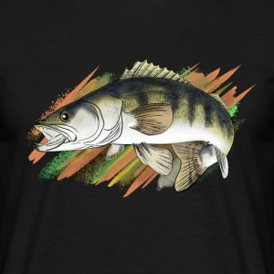 pike-perch T-shirts - Mannen T-shirt