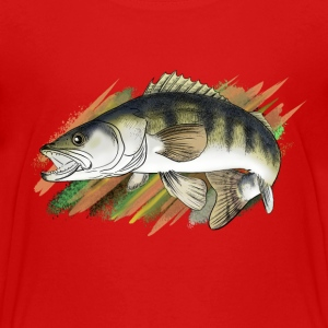 pike-perch T-shirts - Teenager premium T-shirt