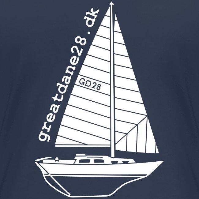 GD28 Ladies' Navy Blue T-Shirt