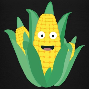 Corn on the cob, green and yellow Shirts - Kids' Premium T-Shirt