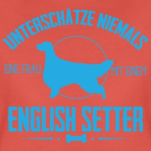 UN English Setter  T-Shirts - Frauen Premium T-Shirt