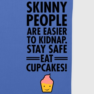 Skinny People Are Easier To Kidnap. Stay safe... Bags & Backpacks - Tote Bag