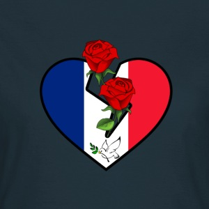 Love and Peace for France T-Shirts - Frauen T-Shirt