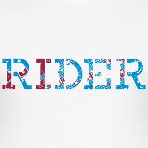 rider_vec_3 nl T-shirts - slim fit T-shirt