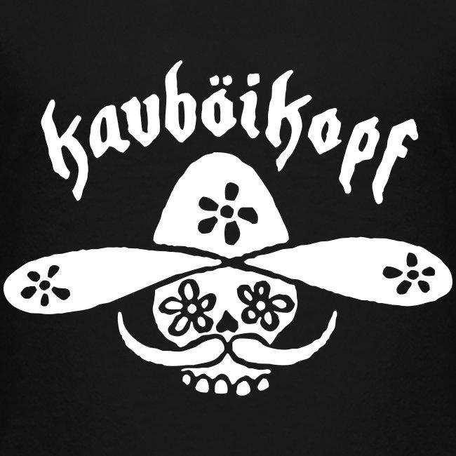 Kinder-Shirt Kauboikopf