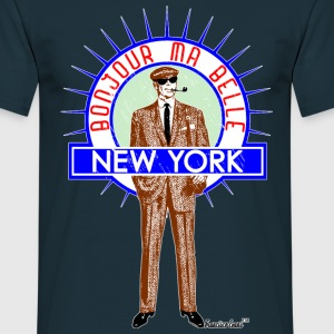 Bonjour ma belle New York by Francisco Evans ™ - Männer T-Shirt
