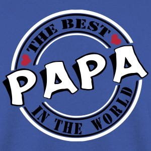 Papa The best in the worl Pullover & Hoodies - Männer Pullover