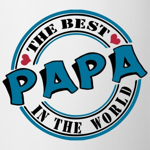 Papa The best in the worl Tassen & Zubehör - Tasse