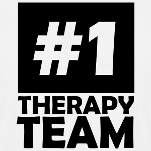 number one therapy team T-Shirts - Men's T-Shirt
