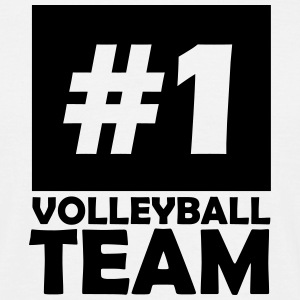 number one volleyball team T-Shirts - Men's T-Shirt