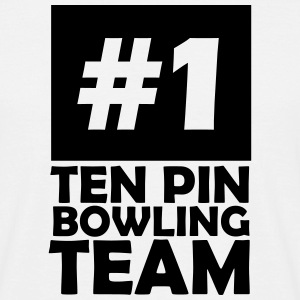 number one ten pin bowling team T-Shirts - Men's T-Shirt