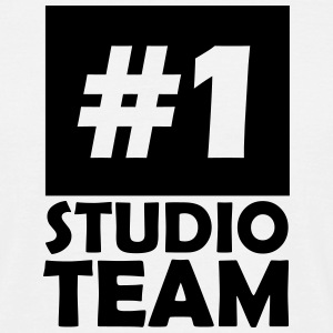 number one studio team T-Shirts - Men's T-Shirt
