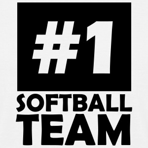 number one softball team T-Shirts - Men's T-Shirt