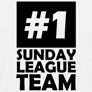 number one sunday league team T-Shirts - Men's T-Shirt
