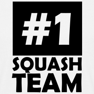number one squash team T-Shirts - Men's T-Shirt