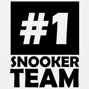 number one snooker team T-Shirts - Men's T-Shirt