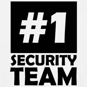 number one security team T-Shirts - Men's T-Shirt