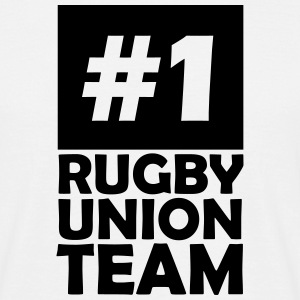 number one rugby union team T-Shirts - Men's T-Shirt