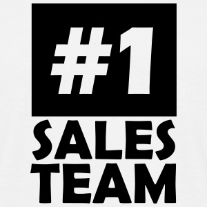 number one sales team T-Shirts - Men's T-Shirt