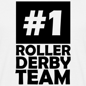 number one roller derby team T-Shirts - Men's T-Shirt