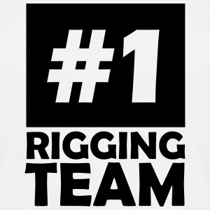 number one rigging team T-Shirts - Men's T-Shirt