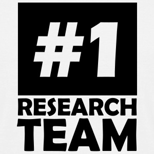 number one research team T-Shirts - Men's T-Shirt