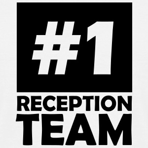 number one reception team T-Shirts - Men's T-Shirt