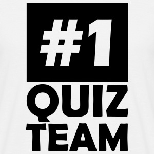 number one quiz team T-Shirts - Men's T-Shirt