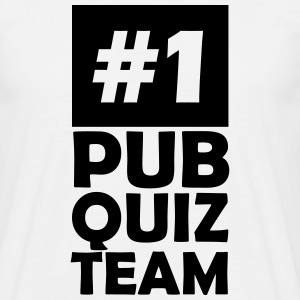 number one pub quiz team T-Shirts - Men's T-Shirt