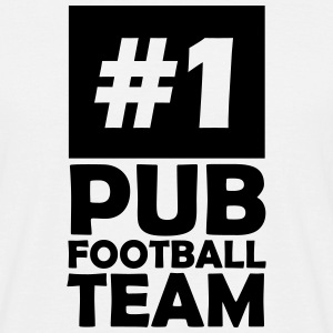 number one pub football team T-Shirts - Men's T-Shirt