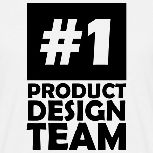 number one product design team T-Shirts - Men's T-Shirt