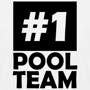 number one pool team T-Shirts - Men's T-Shirt