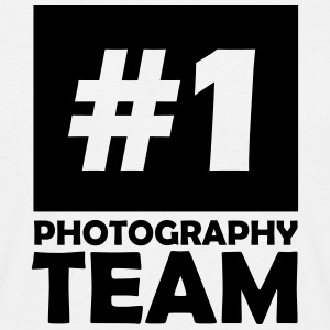 number one photography team T-Shirts - Men's T-Shirt