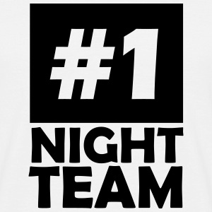 number one night team T-Shirts - Men's T-Shirt