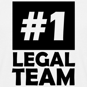 number one legal team T-Shirts - Men's T-Shirt