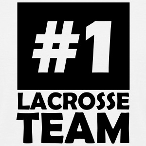 number one lacrosse team T-Shirts - Men's T-Shirt