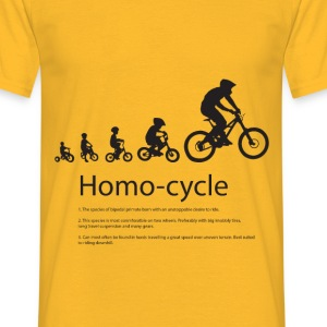 bike evolution - Men's T-Shirt