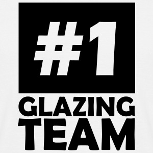 number one glazing team T-Shirts - Men's T-Shirt