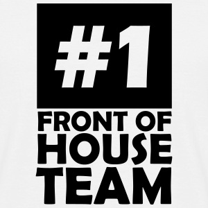 number one front of house team T-Shirts - Men's T-Shirt